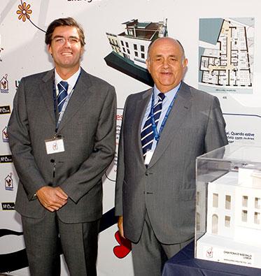 2005 - Lançamento da 1ª pedra da Casa Ronald McDonald de Lisboa