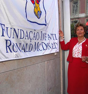 2008 - Inauguração da Casa Ronald McDonald de Lisboa