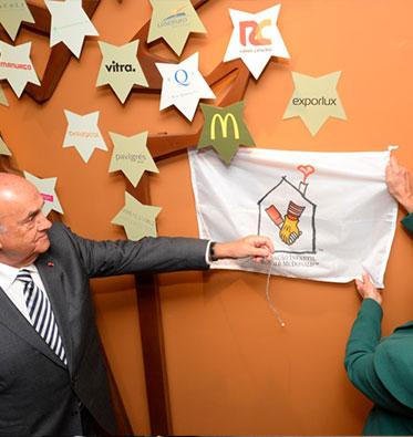 2013 – Inauguração da Casa Ronald McDonald do Porto
