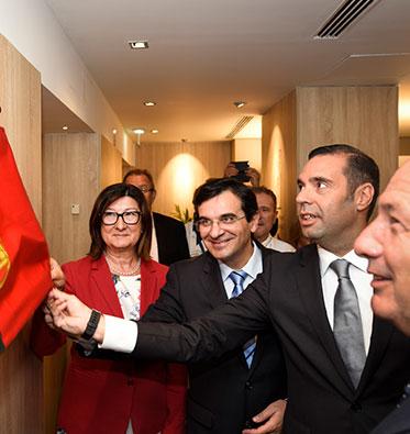 2017 – Inauguração do Espaço Familiar Ronald McDonald