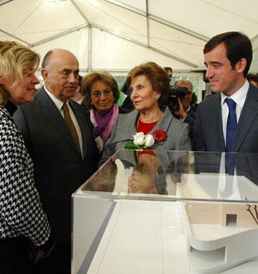 2010 – Lançamento da 1ª pedra da Casa Ronald McDonald do Porto