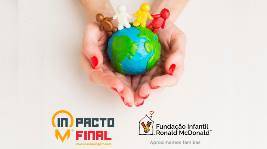 Páscoa solidária: ESCAPE IN ajuda as famílias das Casas Ronald McDonald