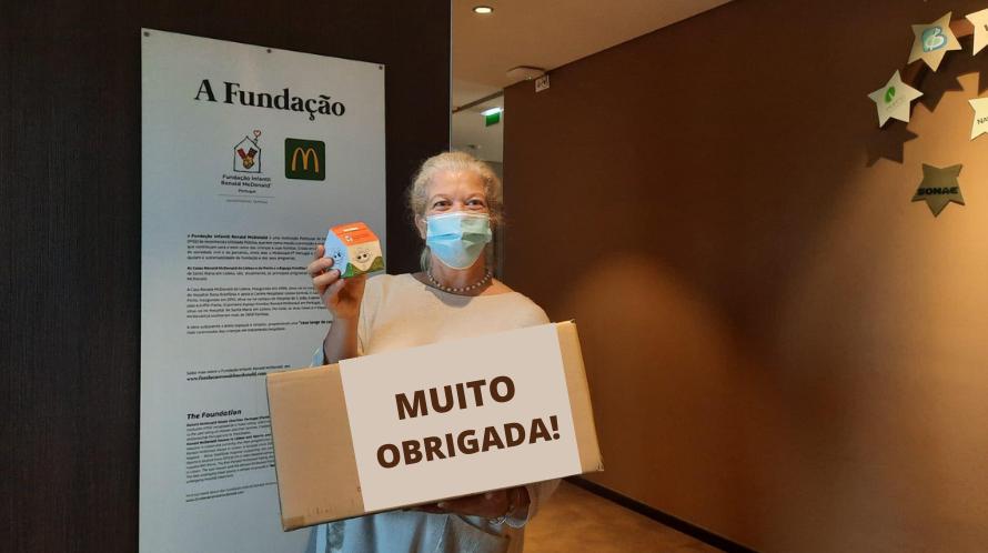 """""""Casinhas Solidárias"""": alunos de Viana do Castelo doam mais de 11 mil euros à Fundação"""